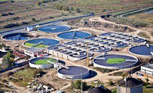 محطة مياه معالجة مياه الصرف الصحى