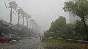 أمطار رعدية فى الفرافرة
