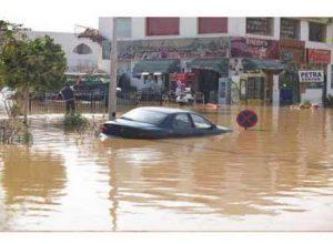 السيول تجتاح محافظات الصعيد