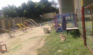 الإهمال يضرب حديقة الأطفال بنادى الزراعيين