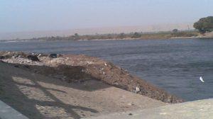 التعديات على نهر النيل