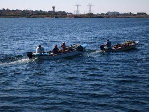 كوارث الصيد الجائر تهدد التوازن البيئي فى بحيرة ناصر