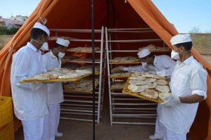 الجيش يوفر الخبز بمدينة رأس غارب