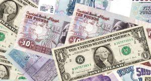 انهيار الجنيه أمام الدولار