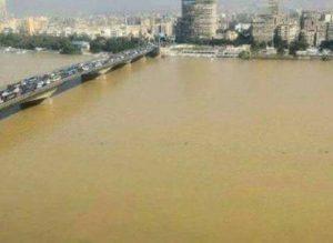 نهر النيل بعد السيول