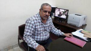 د.محمد عبدالحكيم، مدير معهد بحوث القطن الأسبق