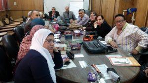 خبراء الإرشاد الزراعى بقسم بحوث البرامج الإرشادية