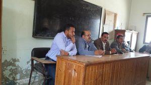 د.محمد عبد الدايم أستاذ الإقتصاد الزراعى يتحدث للحضور