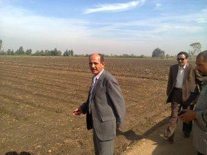 قيادات العمل الزراعى بالدقهلية تتابع زراعة المحاصيل المختلفة